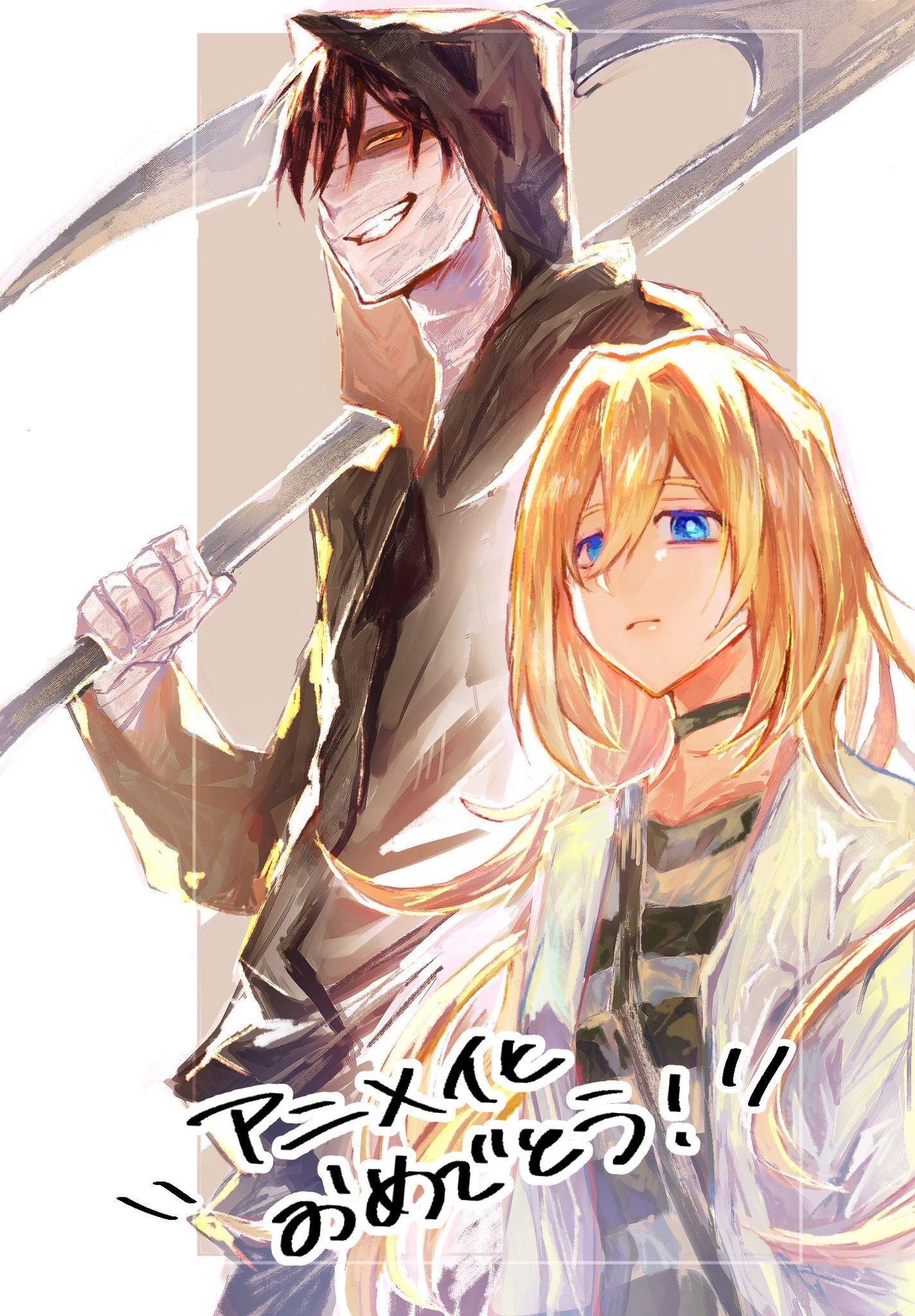 Pin by ♡ Λℓicε ♡ on Satsuriku no Tenshi in 2020 Angel of