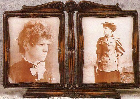 1921 Double Picture Frame Picture Frame Picture Frames Antique