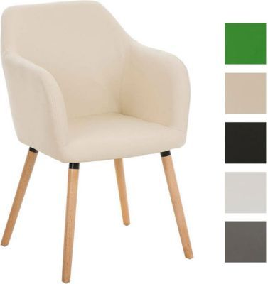 Besucher Design-Stuhl PICARD, Holzgestell, Sitzfläche gut