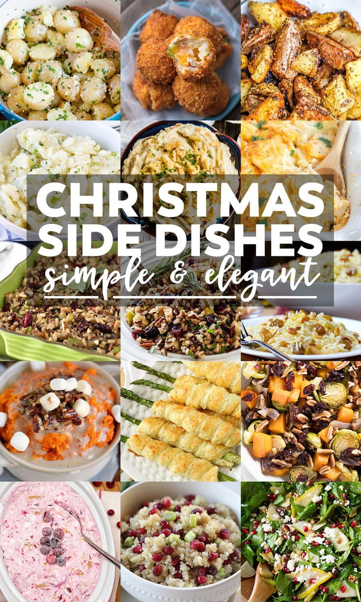 Planning a Christmas Feast? Here are 35 recipes that would pair great with your Christmas Dinner! #christmasdinner #christmasrecipes #dinner