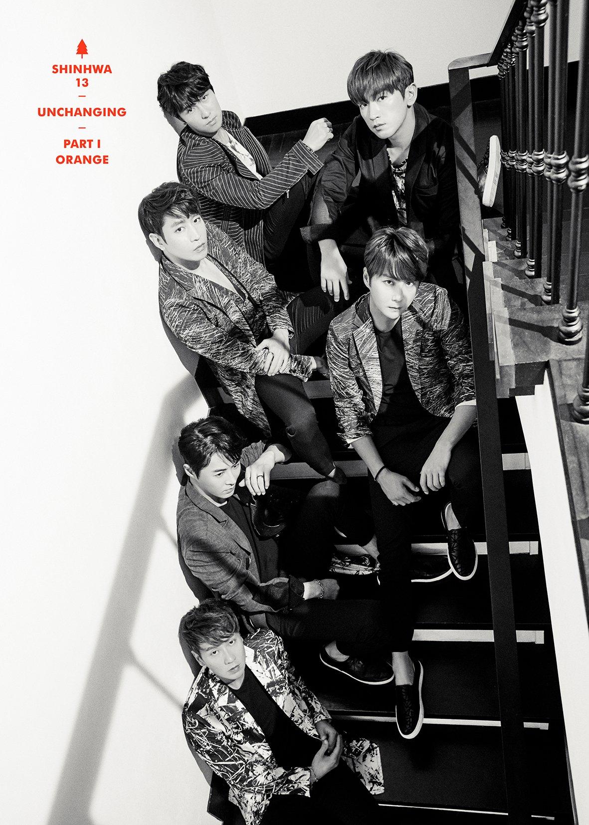 #ShinhwaCompany  네이버 뮤직 스페셜 신화13집 part1 컴백포토 단독 공개 (신화/에릭/민우)  언제나 우리 곁에...  변하지 않는 단 하나 '신화'