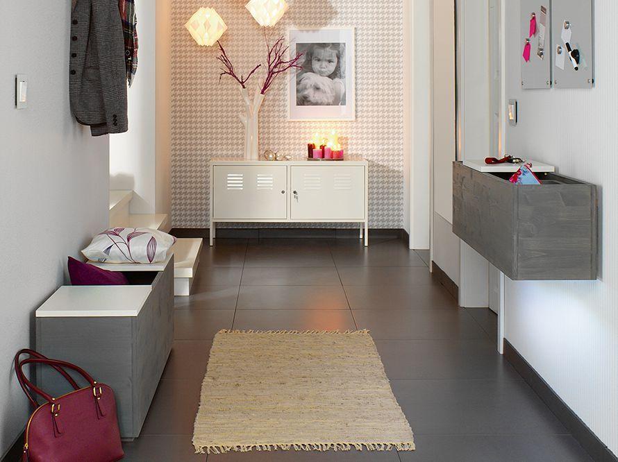 Toom Kreativwerkstatt Wandboard Und Bank Haus Und Wohnen Flur