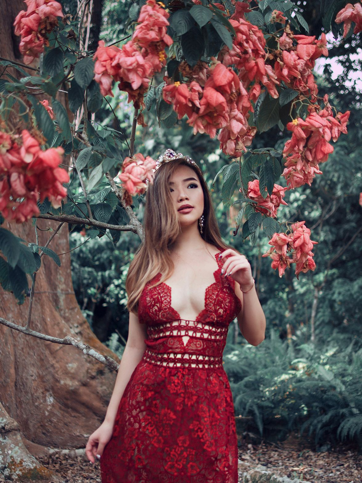 Mon cheri Midi Dress by for Love and Lemons