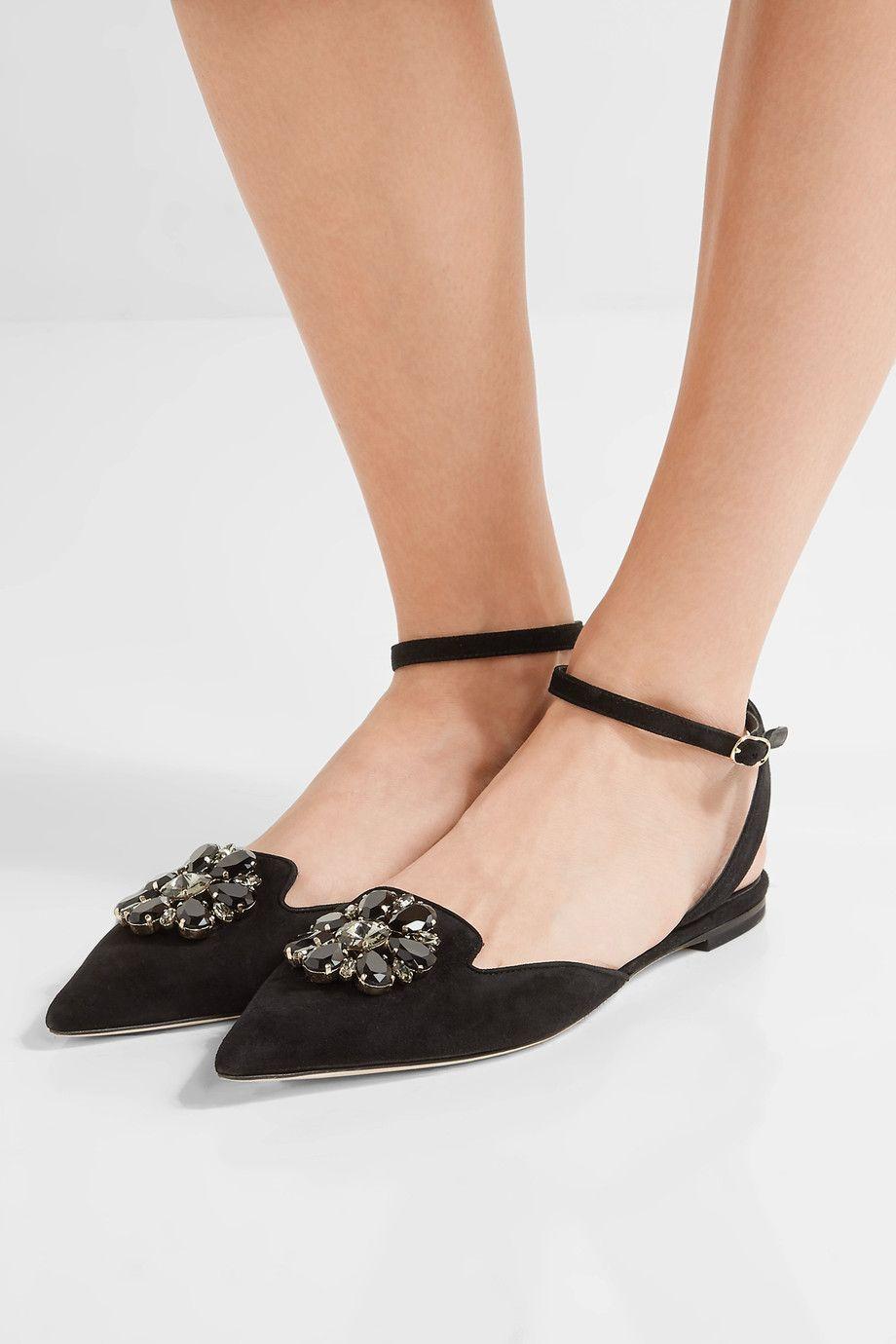 Bellucci embellished suede sandals Dolce & Gabbana qlVGoF