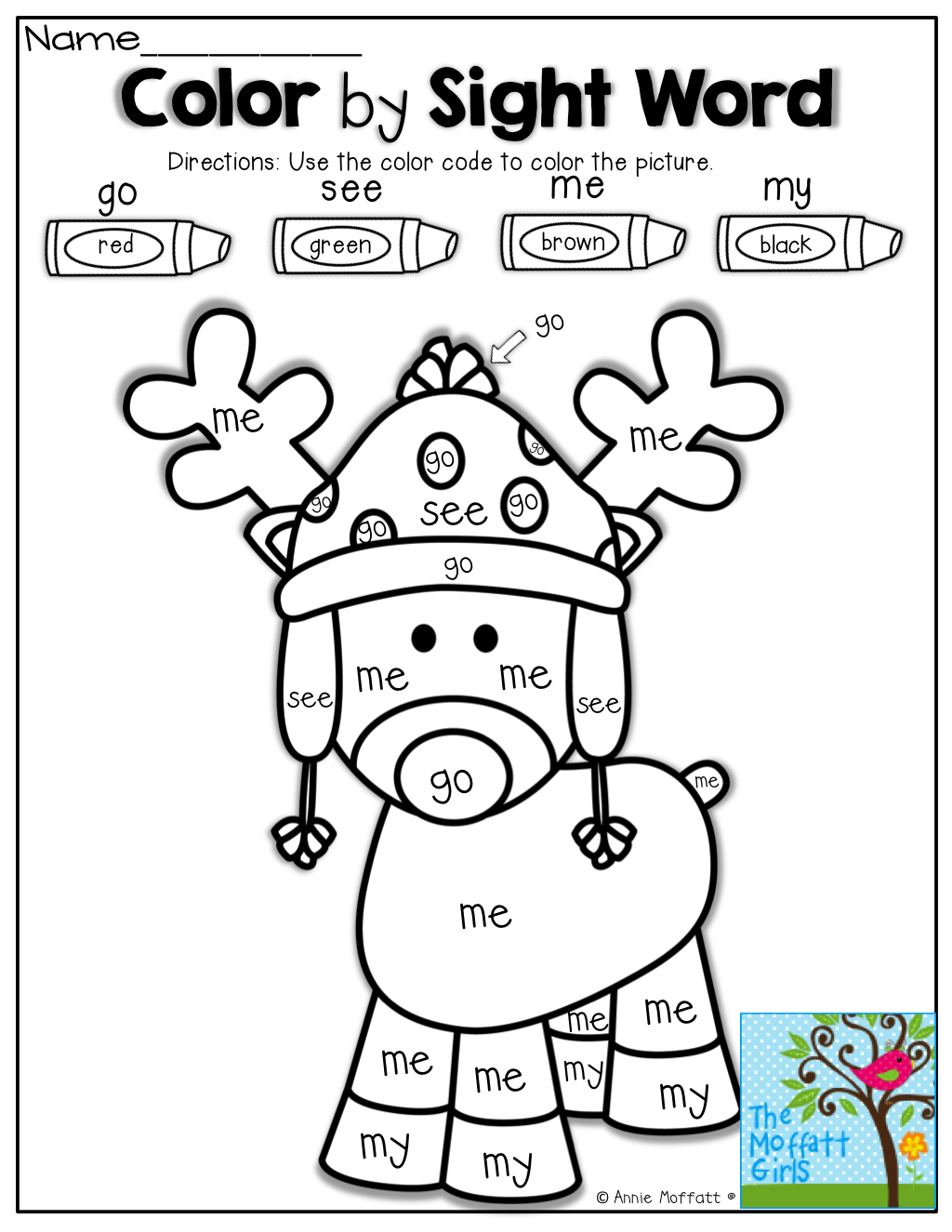 Color By Sight Word Tons Of Fun Interactive And Engaging Printables