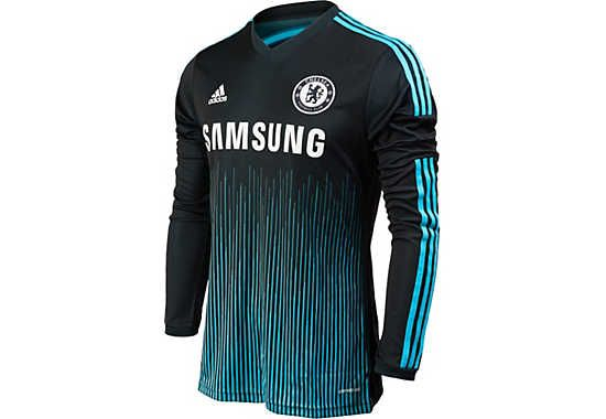 size 40 91491 a2da3 adidas Chelsea Long Sleeve 3rd Jersey 2014-15 | Football ...