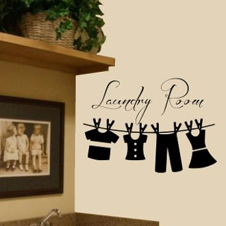 Charming It All Comes Out In The Wash Wall Decal Sticker · Laundry Room ... Part 7