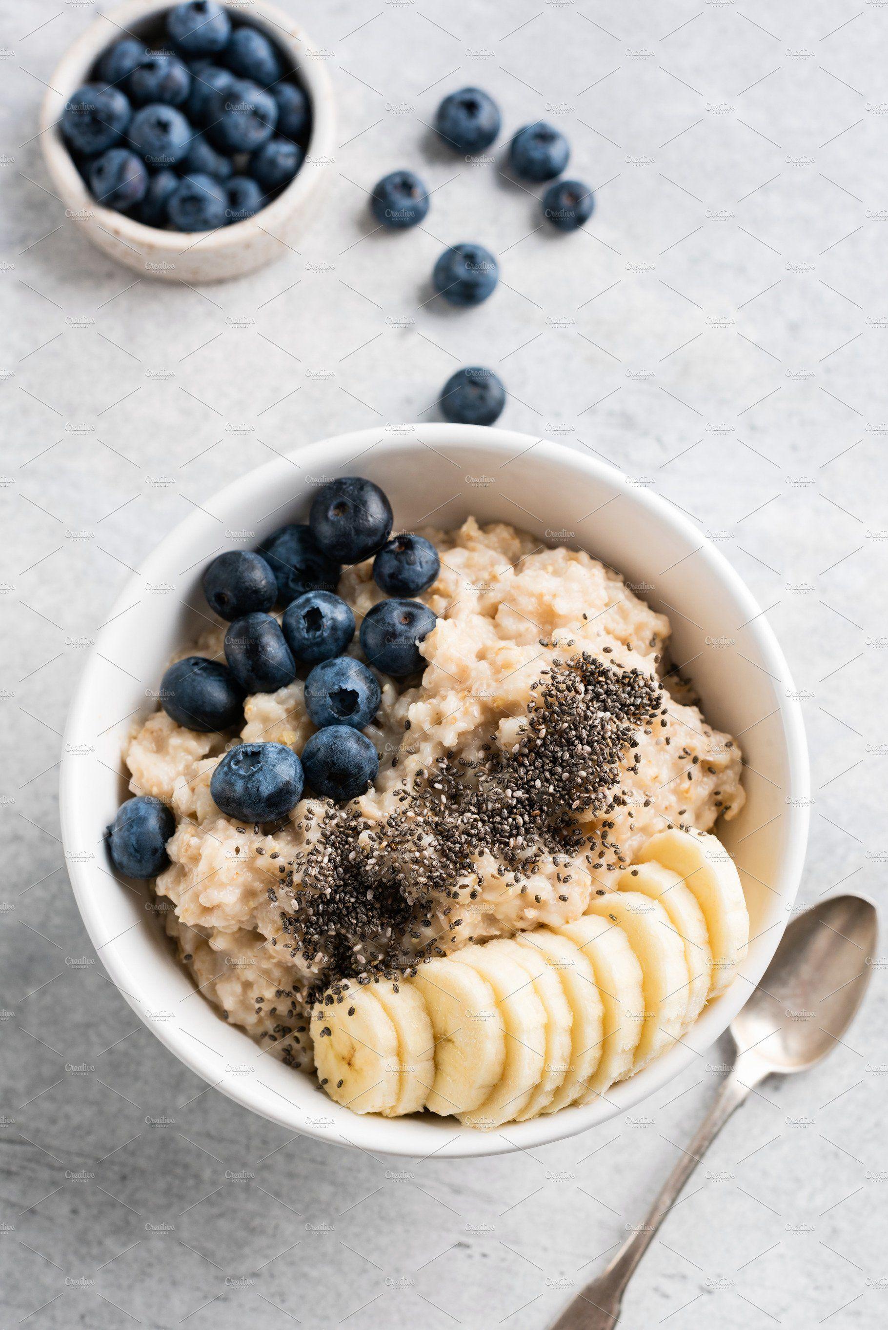 breakfast pictures #breakfast Tasty porridge oatmeal for breakfast by The baking man on creativemarket