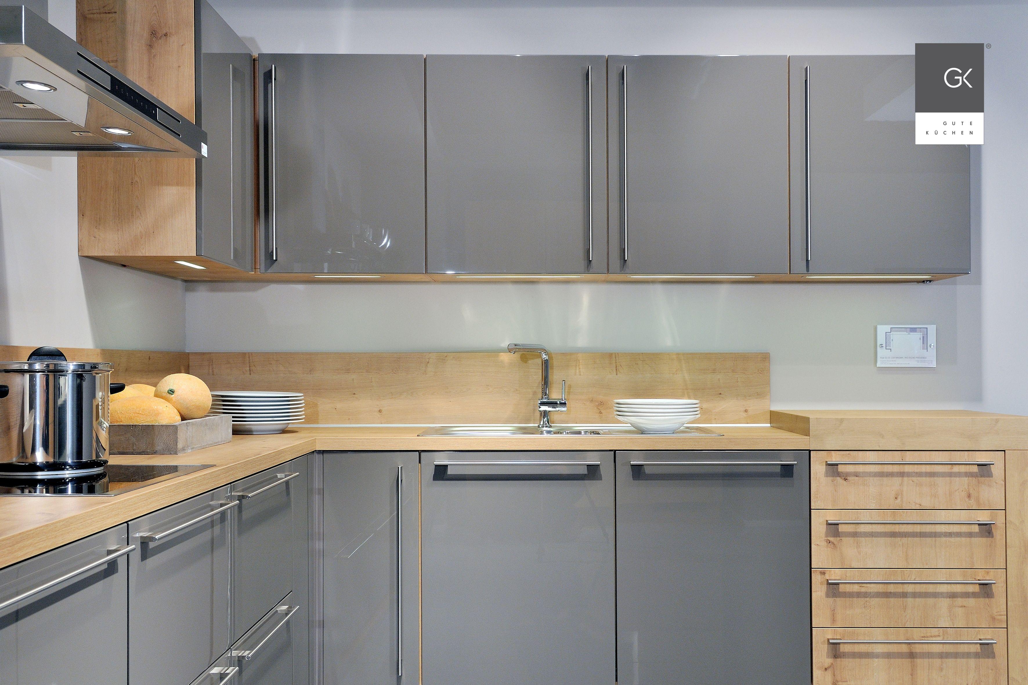 Cool Moderne Küchen L Form Foto Von Einbauküche In L-form Mit Hochglanzfronten