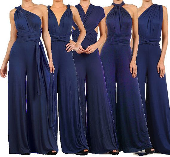 4a629bdd0b8 Infinity Convertible Jumpsuit Navy Multiway by PassionFruitApparel  https   www.pinterest.com