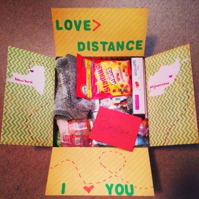 Christmas Gift Ideas For Long Distance Boyfriend: Pin By Sugarplum Cuties On Deployment Care Packages