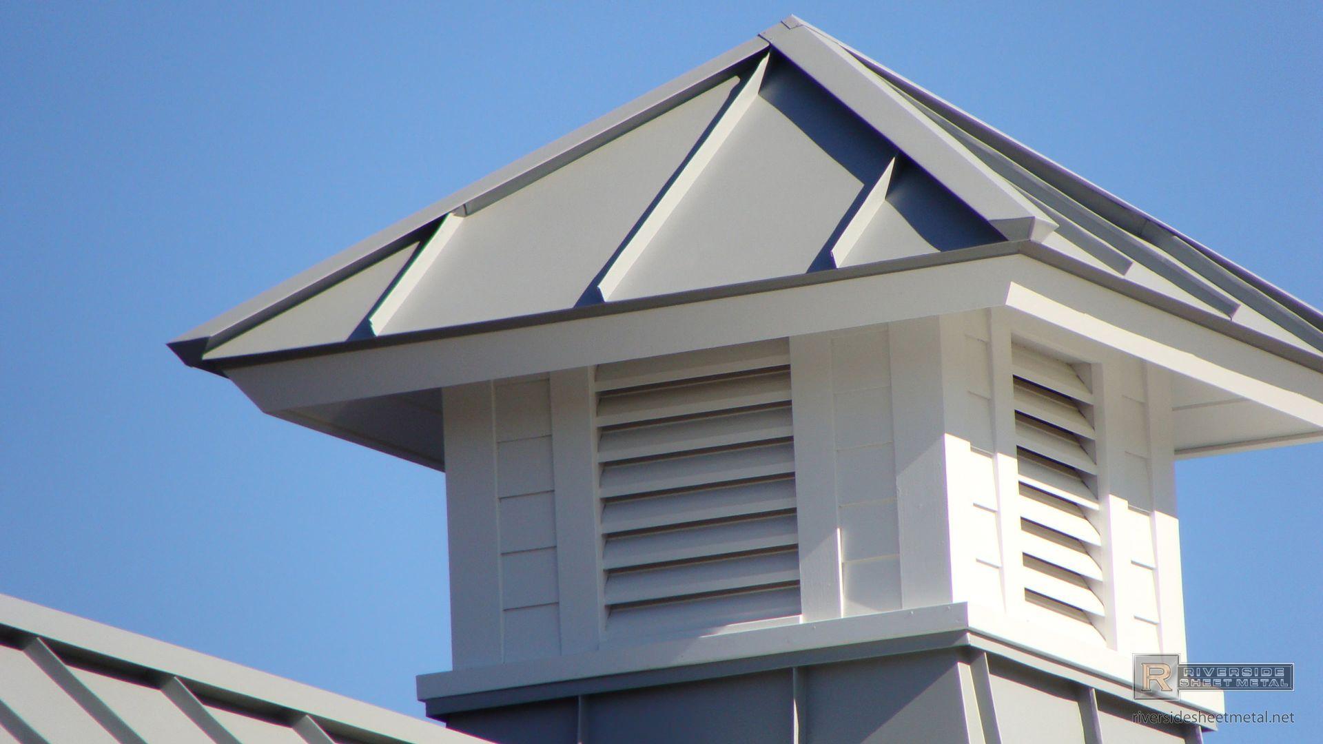 Dove Gray Standing Seam Metal Roofing Panels Riverside Aluminum Roof Panels Aluminum Roof Metal Roof