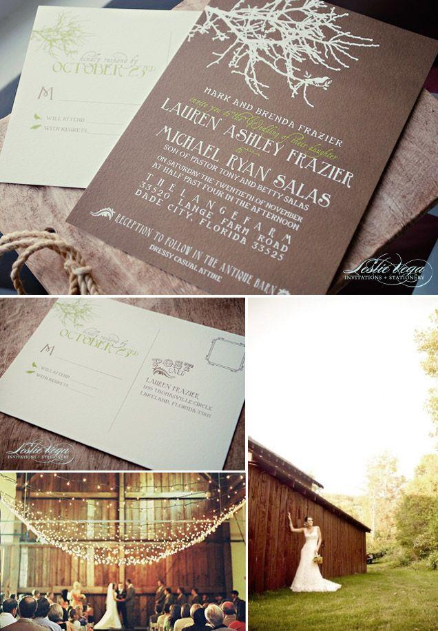 invitations for a wedding in a barn  wedding barn wedding, invitation samples