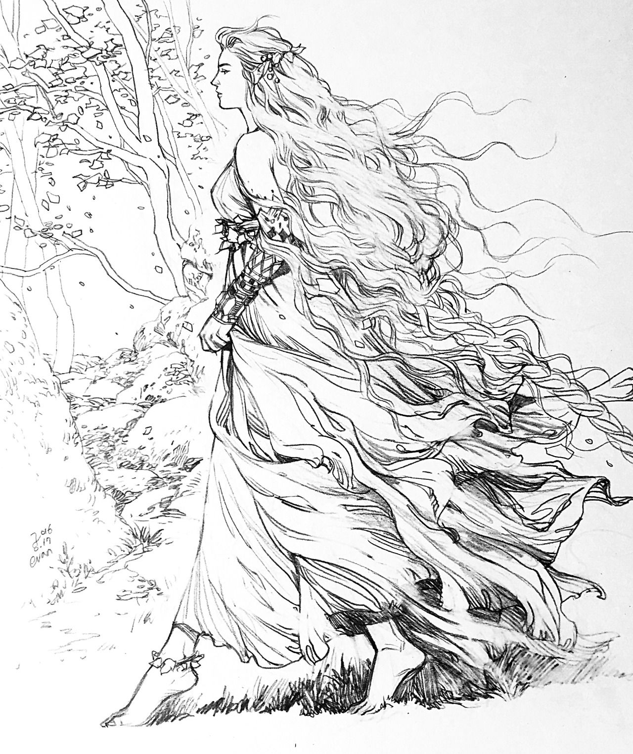 nellas evankart tolkien coloring pages