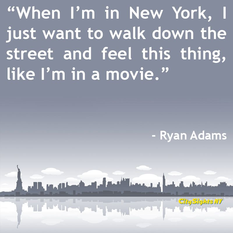 8 Wonderful NYC Travel Quotes Famous people, City and People