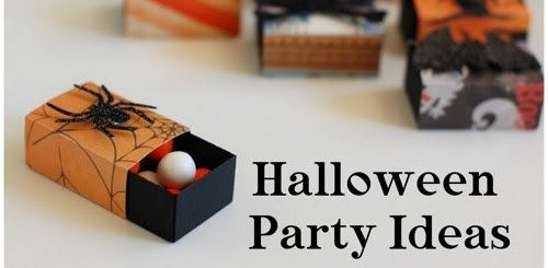 Happy Halloween and last minute party ideas!