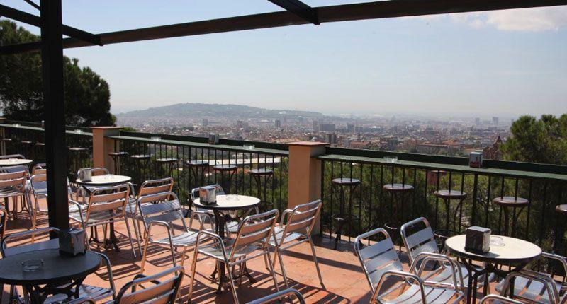 Terraza Restaurante Mirablau Barcelona Terrazas Patios Y