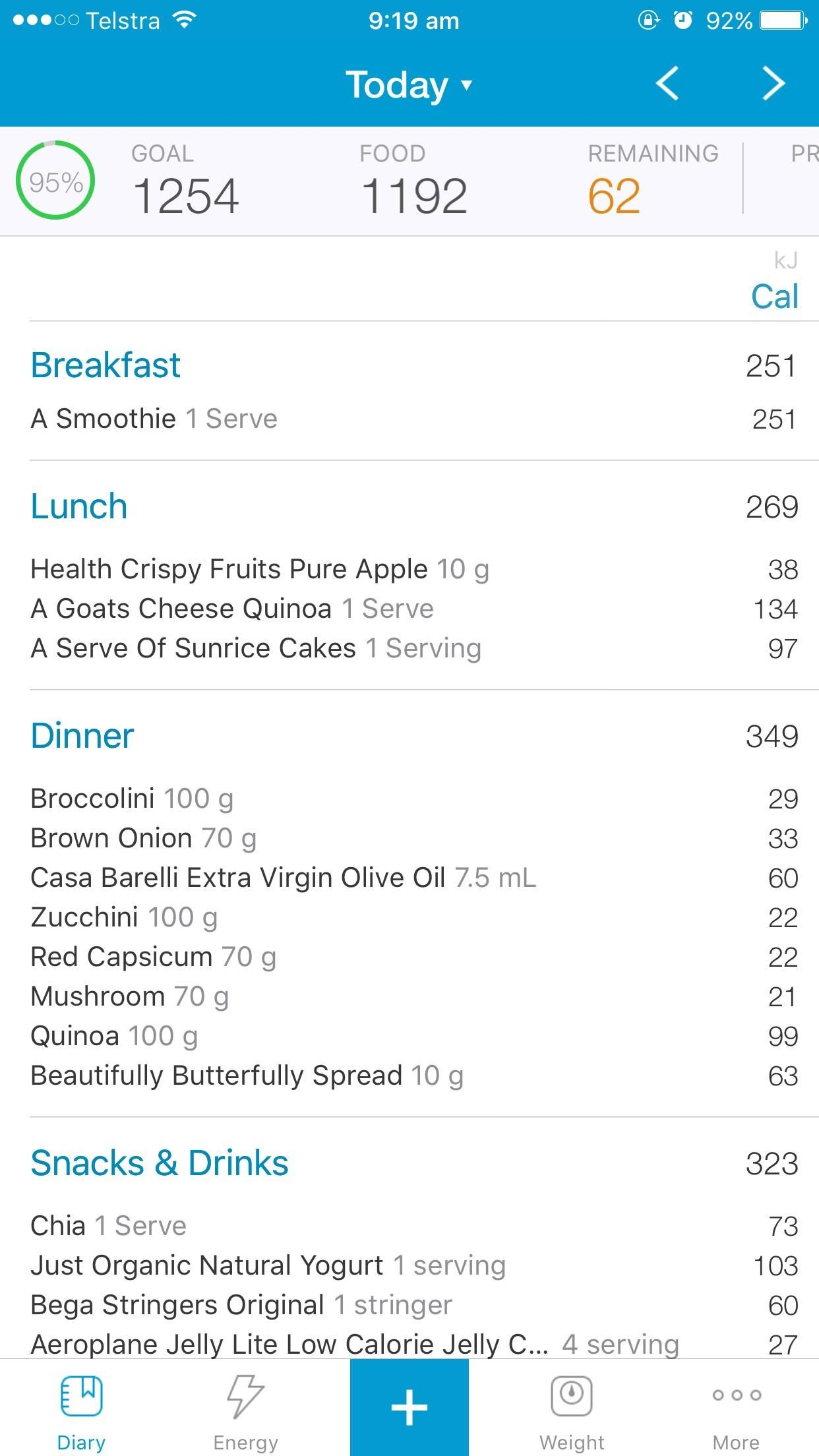 Calorie counting app for the Aussies what apps do you