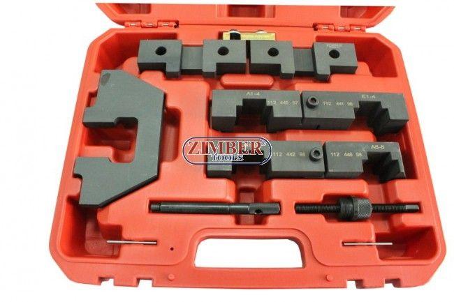 Master Camshaft Alignment Locking Timing Tools Set for BMW M40 42 M60 M62 Engine