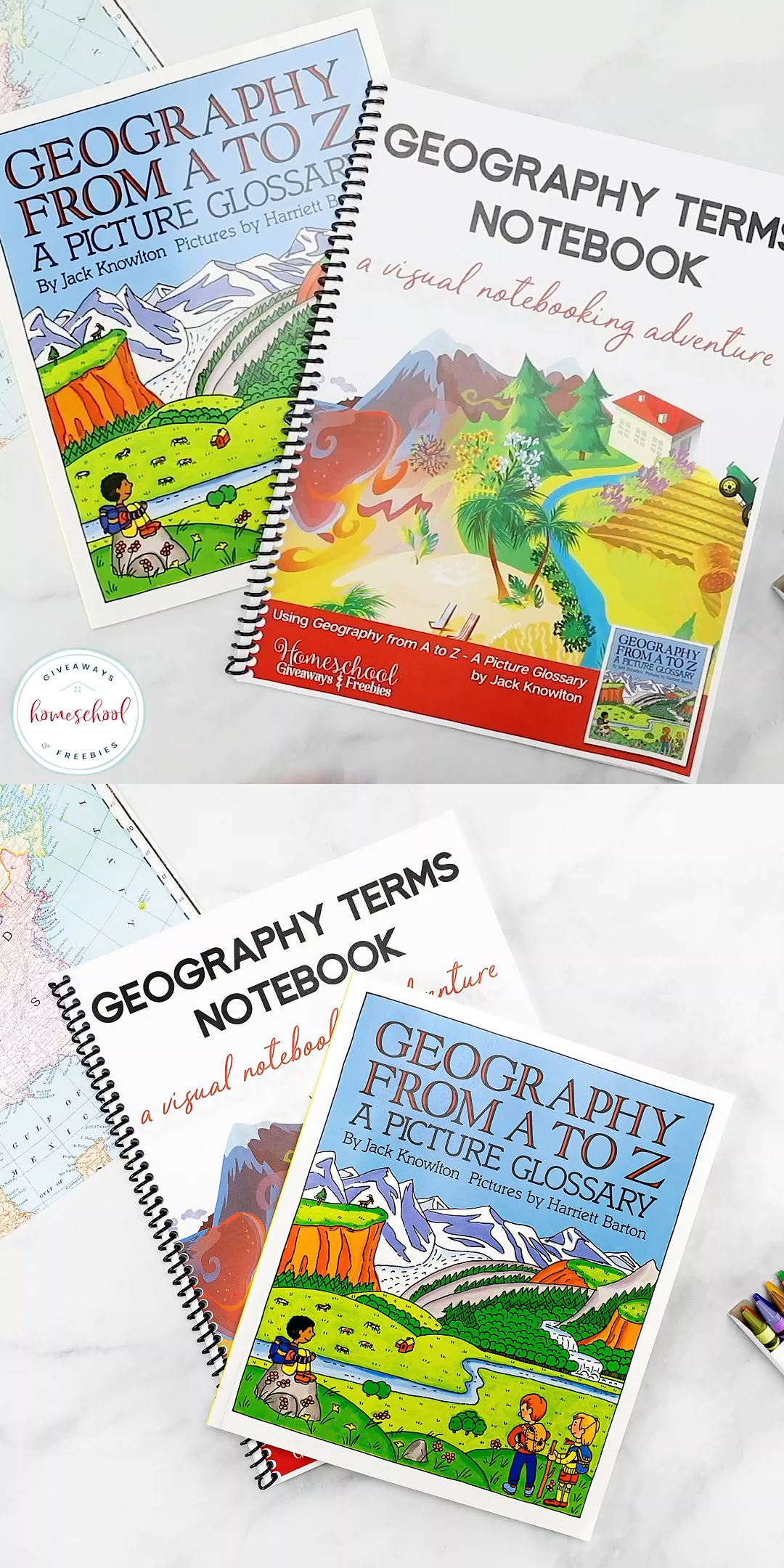 Geography Terms Notebook A Visual Notebooking Adventure