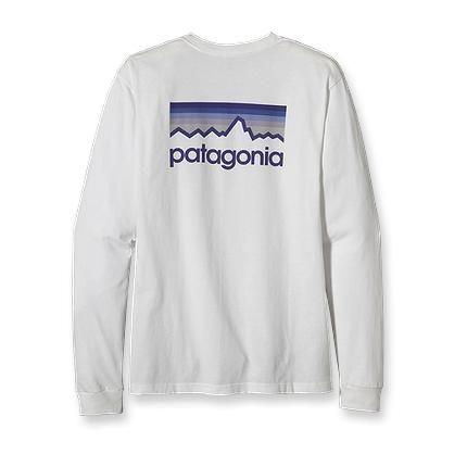 Patagonia Men's Long-Sleeved Line Logo T-Shirt