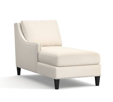 Pasadena Upholstered Left Arm Chaise Ply Cushions