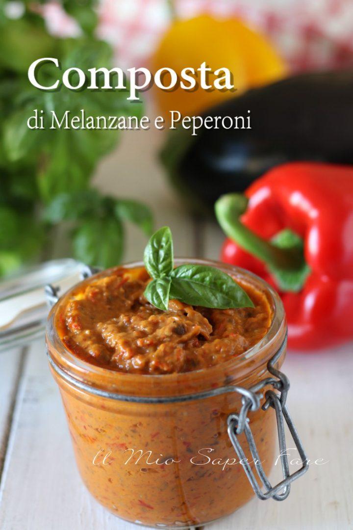 Composta Di Melanzane E Peperoni Ricetta Crema Di Verdure Estive Ricette Salse Ricette Ricette Di Cucina