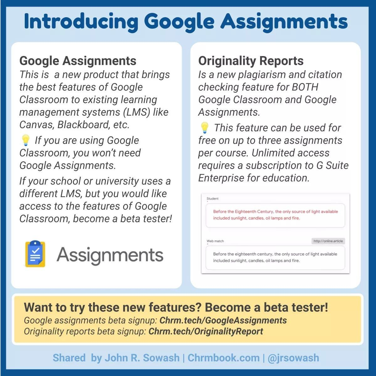 New Plagiarism Checker For Google Classroom Google Classroom Classroom Learning Google Classroom