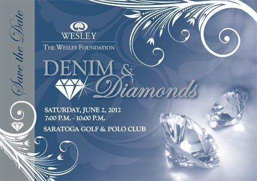 Image Result For Denim And Diamonds Invitation Templates