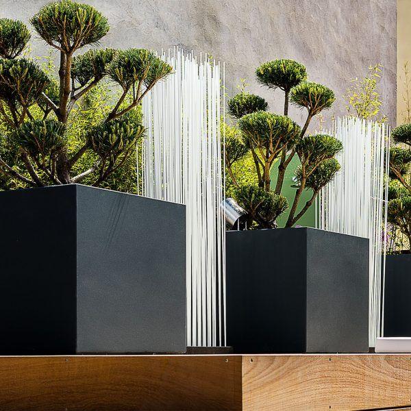 Jardinières sur mesure Image\'In sur toit terrasse à Annecy : ICC ...