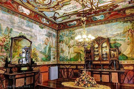 casa modernista novelda spain art nouveau gorgeous