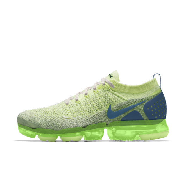 the best attitude official images new lower prices Nike Air VaporMax Flyknit 2 iD Men's Running Shoe   Step ♢ Walk ...