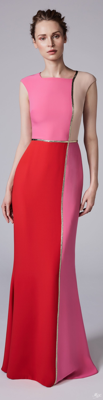 Resort 2018 Reem Acra. Beautiful and perfect...!!! | vestidos de ...