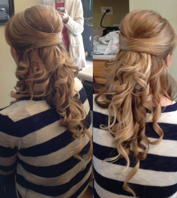Wedding Hairstyles Extensions: Found On Weddingbee.com Share Your Inspiration Today