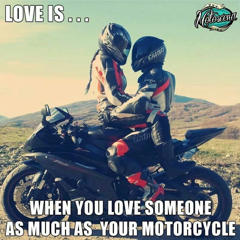 I Love You Much More Than My Motor Scooter Motorcycle Yamaha R6