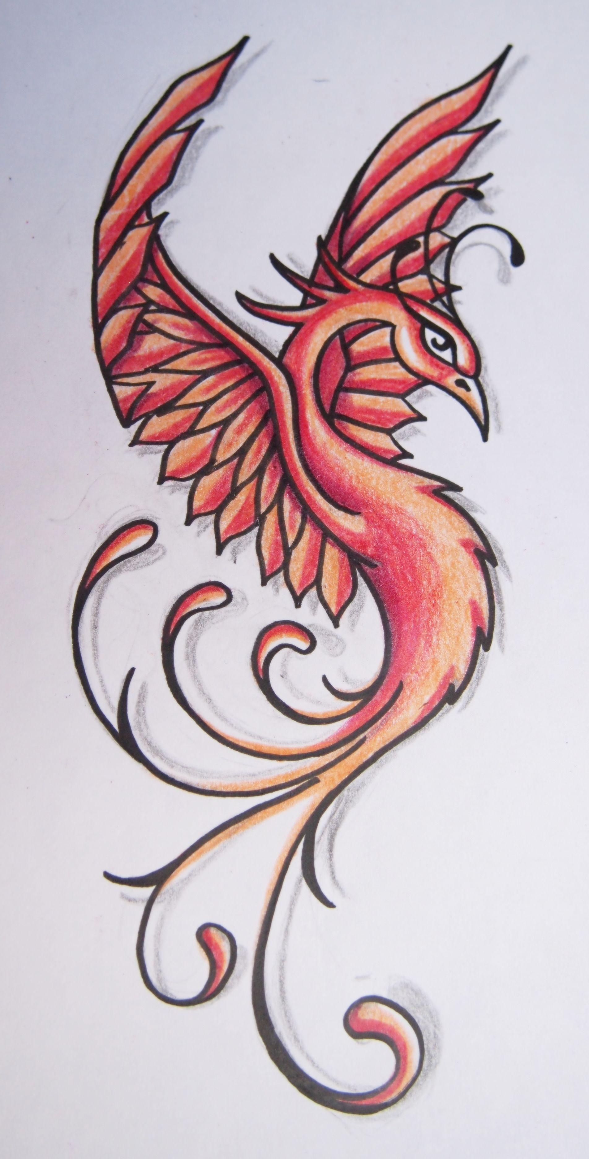 Dessiner Phoenix Recherche Google Dessin