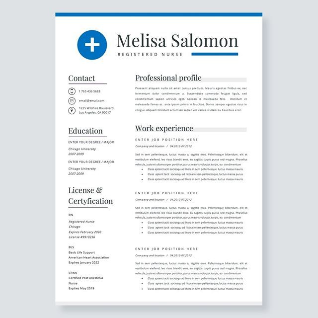 Word Resume Template 2007 Creative And Professional Resume Template In Microsoft Wordcv With .