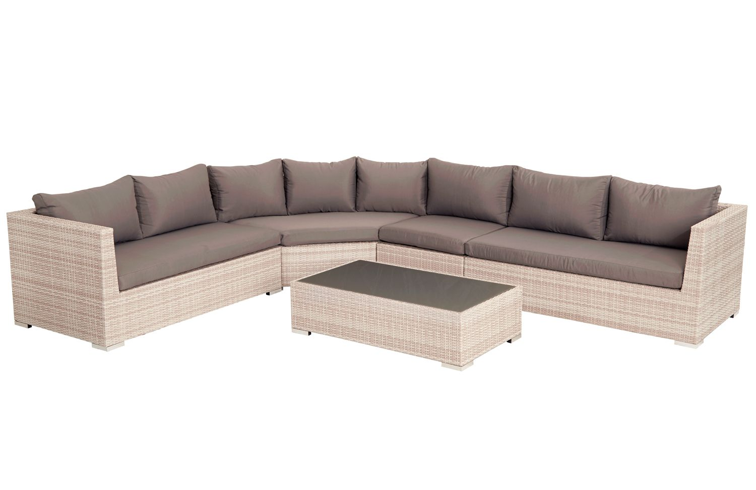 Barbeques Galore - Products - Metro 5 Piece Modular Lounge Setting - Barbeques Galore - Products - Metro 5 Piece Modular Lounge Setting