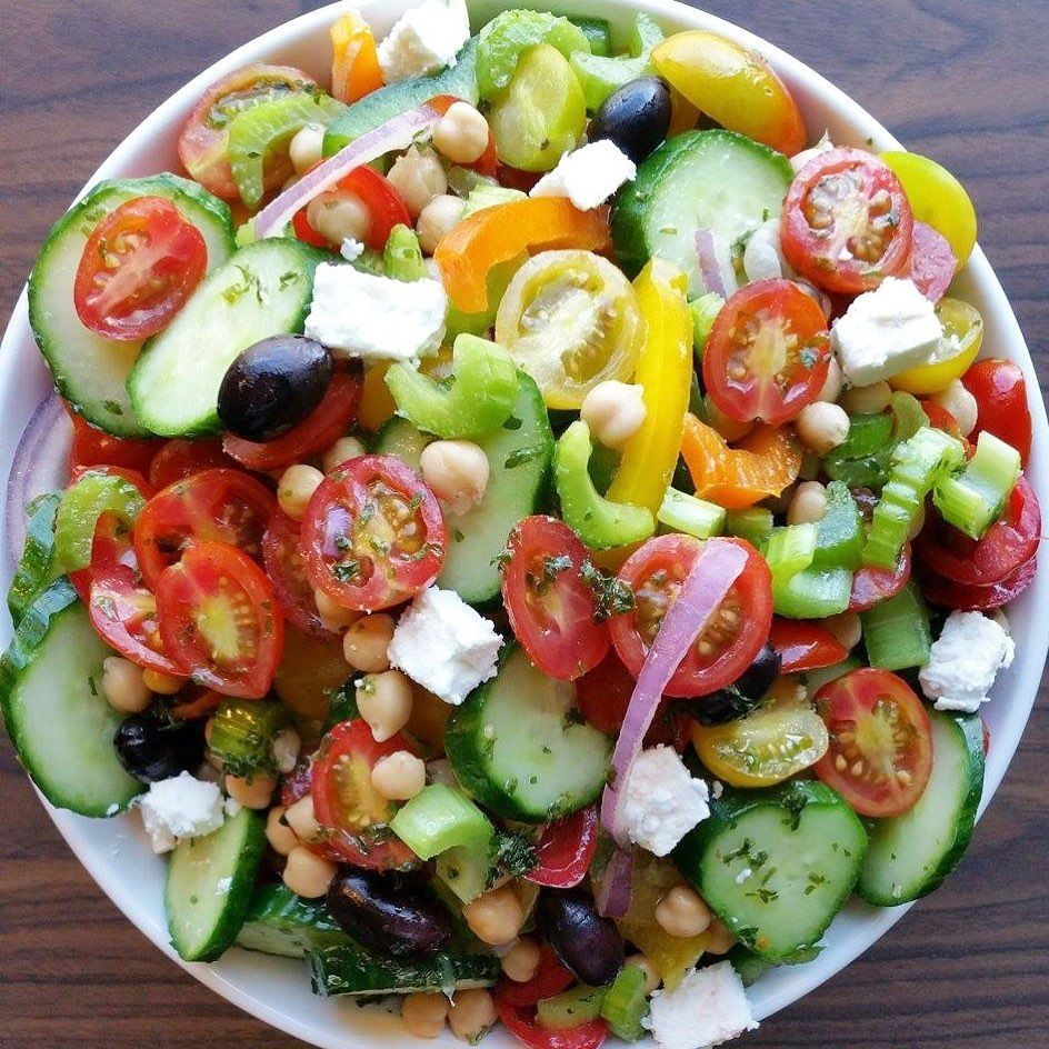 Greek salad 🥗