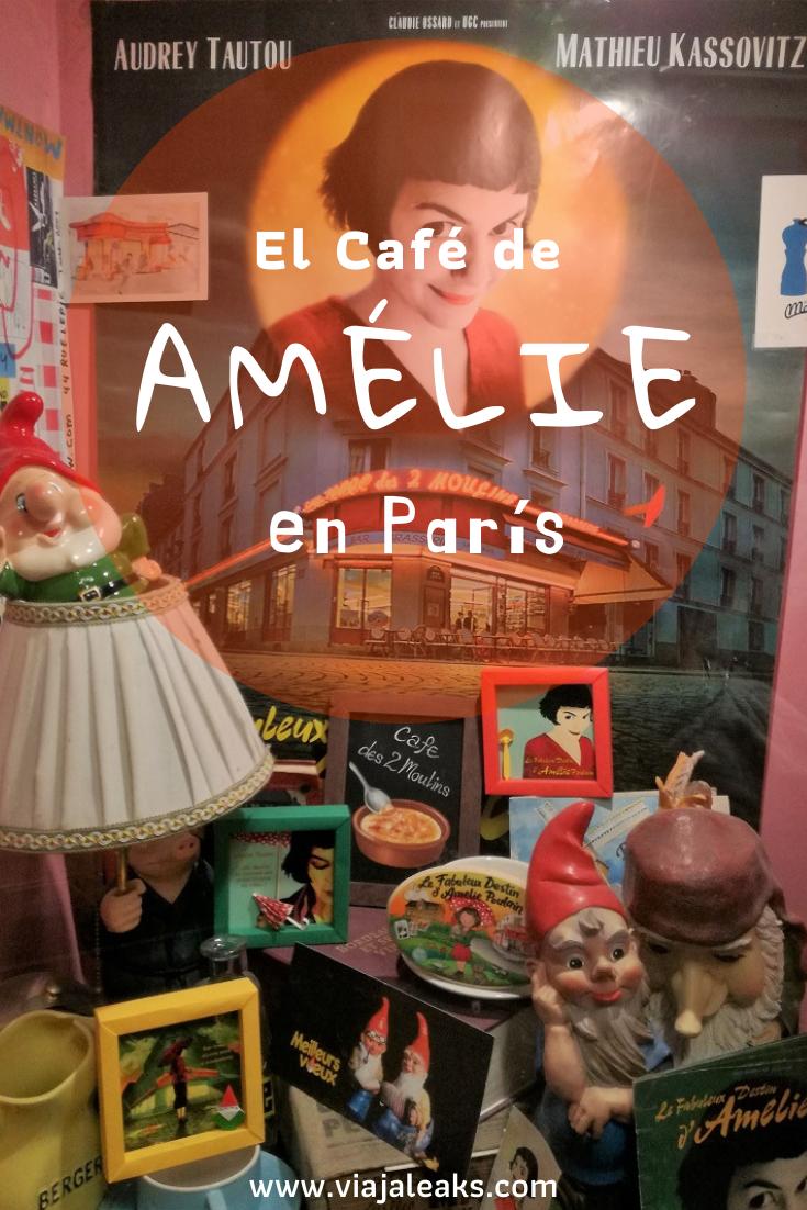 El Café De Amélie En París Amelie París Cafe