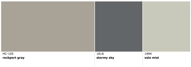 Rockport Gray Benjamin Moore Paint Colors For Home House Paint Exterior Interior Paint Colors Schemes