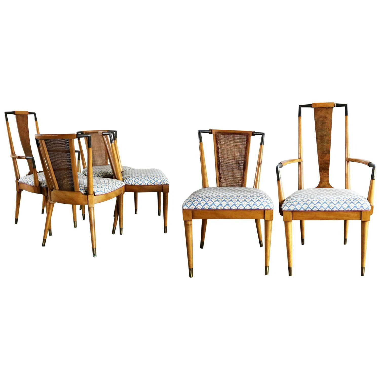 Mid Century Modern Metz Contempora Dining Chairs By William