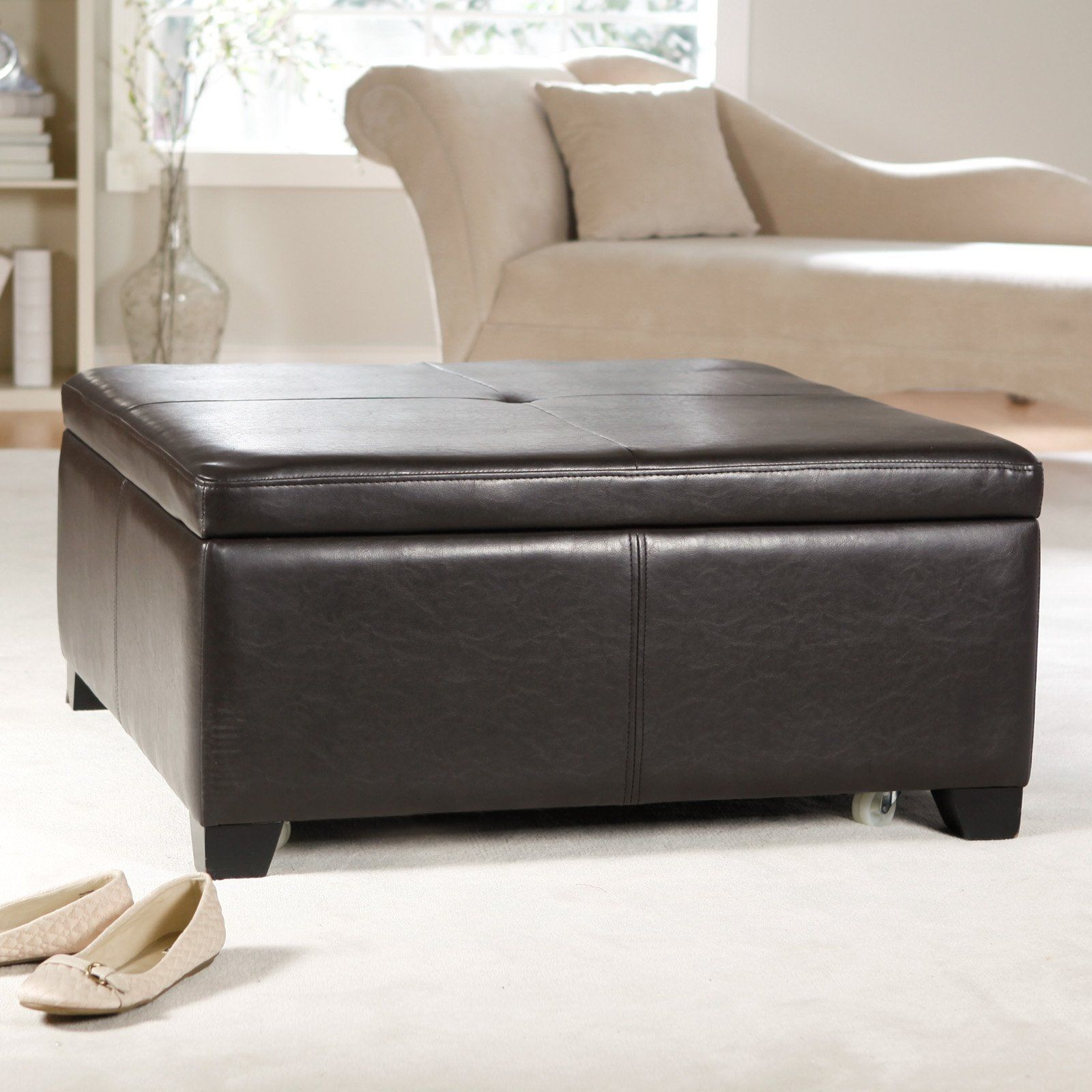 Have to have it corbett coffee table storage ottoman square corbett coffee table storage ottoman square 30999 geotapseo Gallery