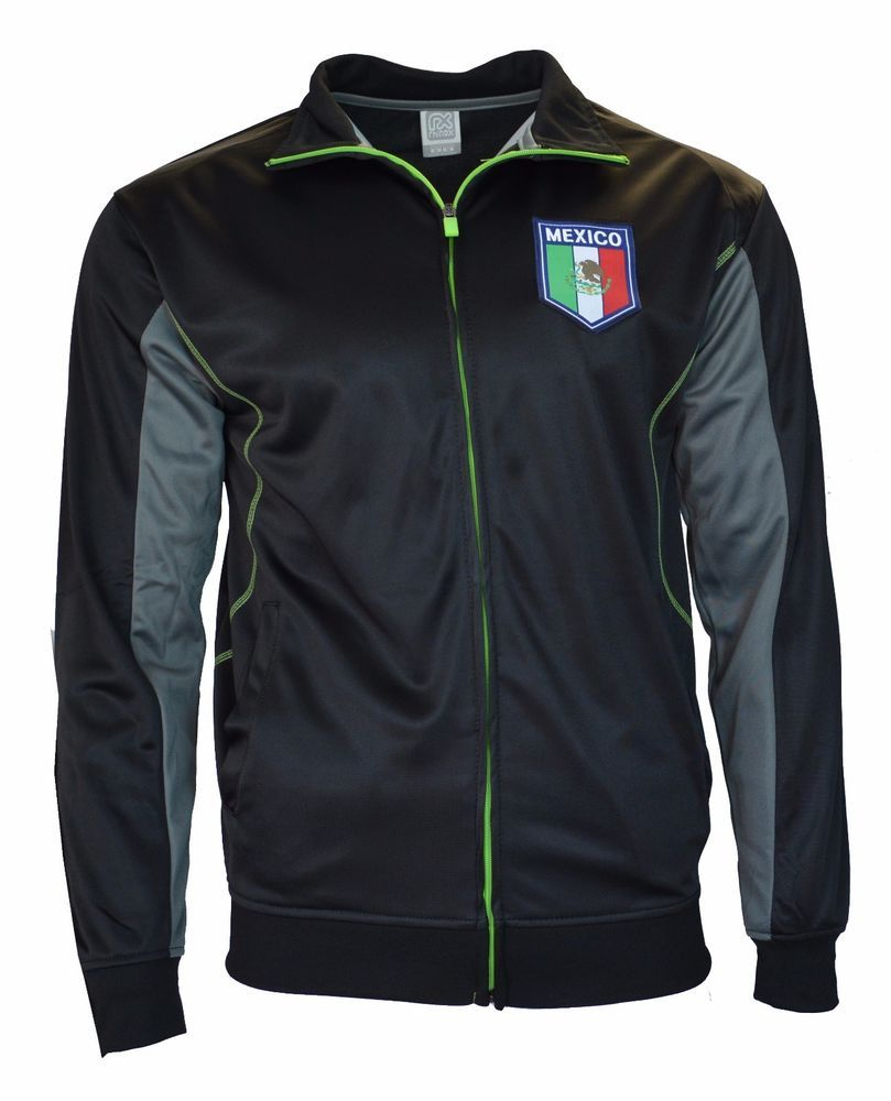 ab668eede22 Mexico Light Summer Jacket Track Football Club Soccer Gift Mens adults FMF   Rhinox  Mexico