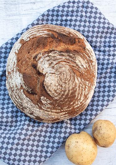 Photo of Grandma's potato bread for # wbd2018