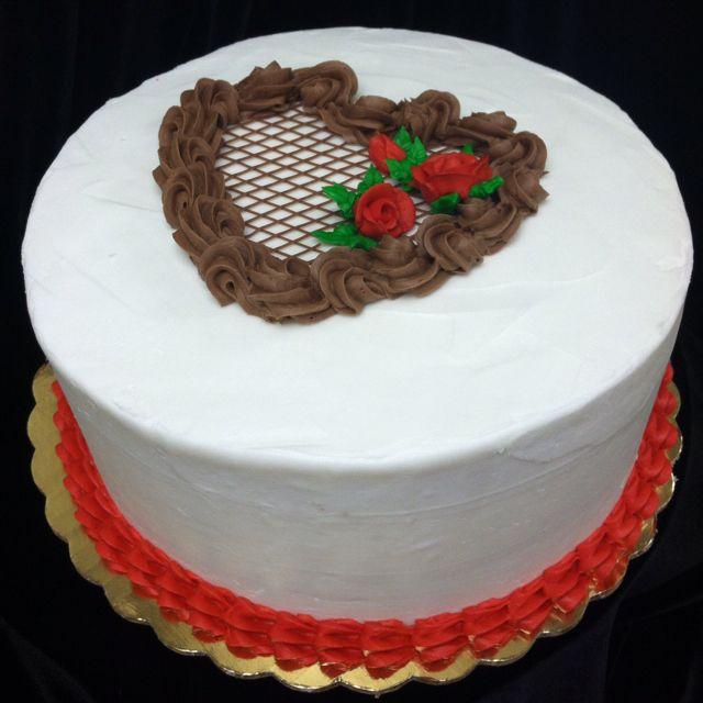 Valentine cake | Candy cakes, Cake, Cake decorating