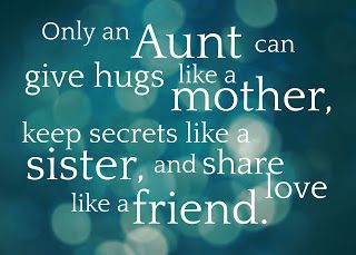 WhimsiKel: Only An Aunt... (Free Printable)