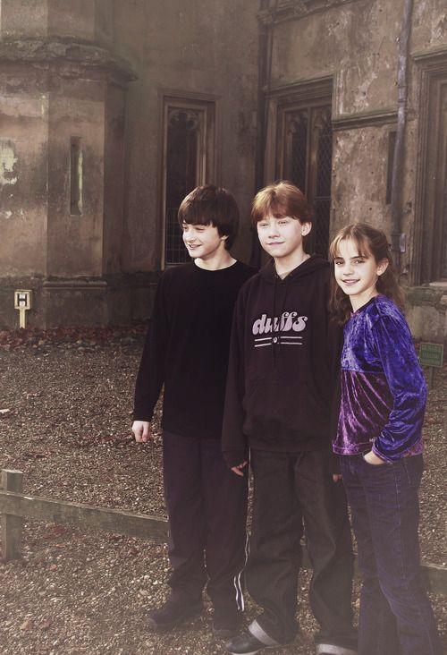 Harry....Ron....Hermione