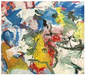Willem de Kooning, Untitled V