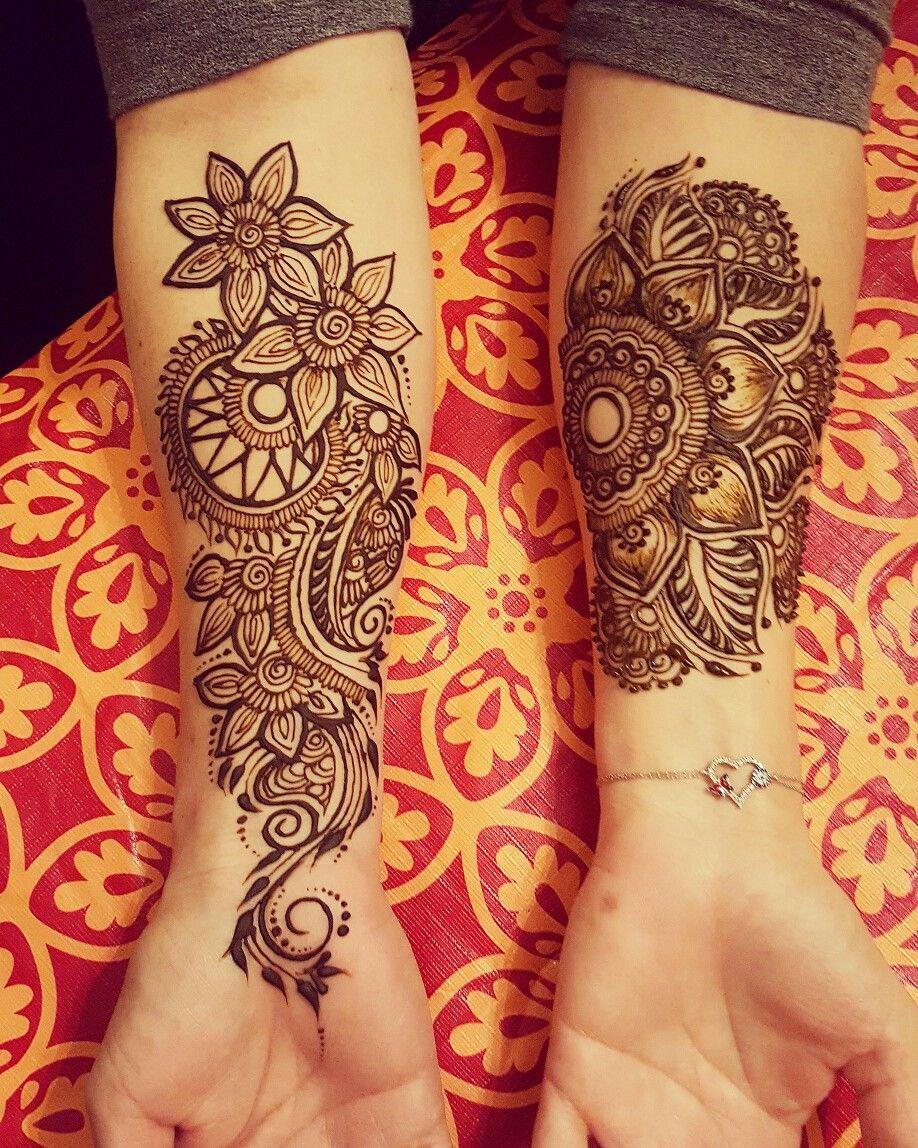 Henna Tattoo Inside Arm: Idea By Ayyari Henna On My Henna Designs